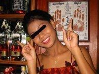 blå blink thai pige