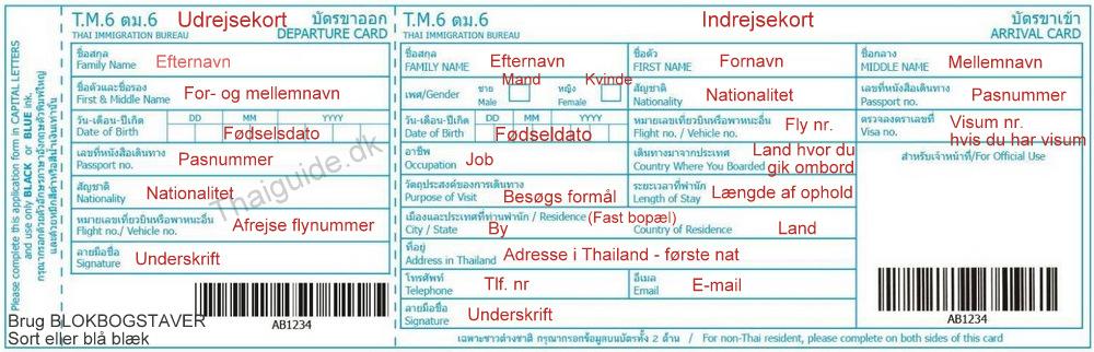 indrejse thailand